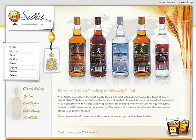 Solkit Distillery and Brewery P. Ltd.